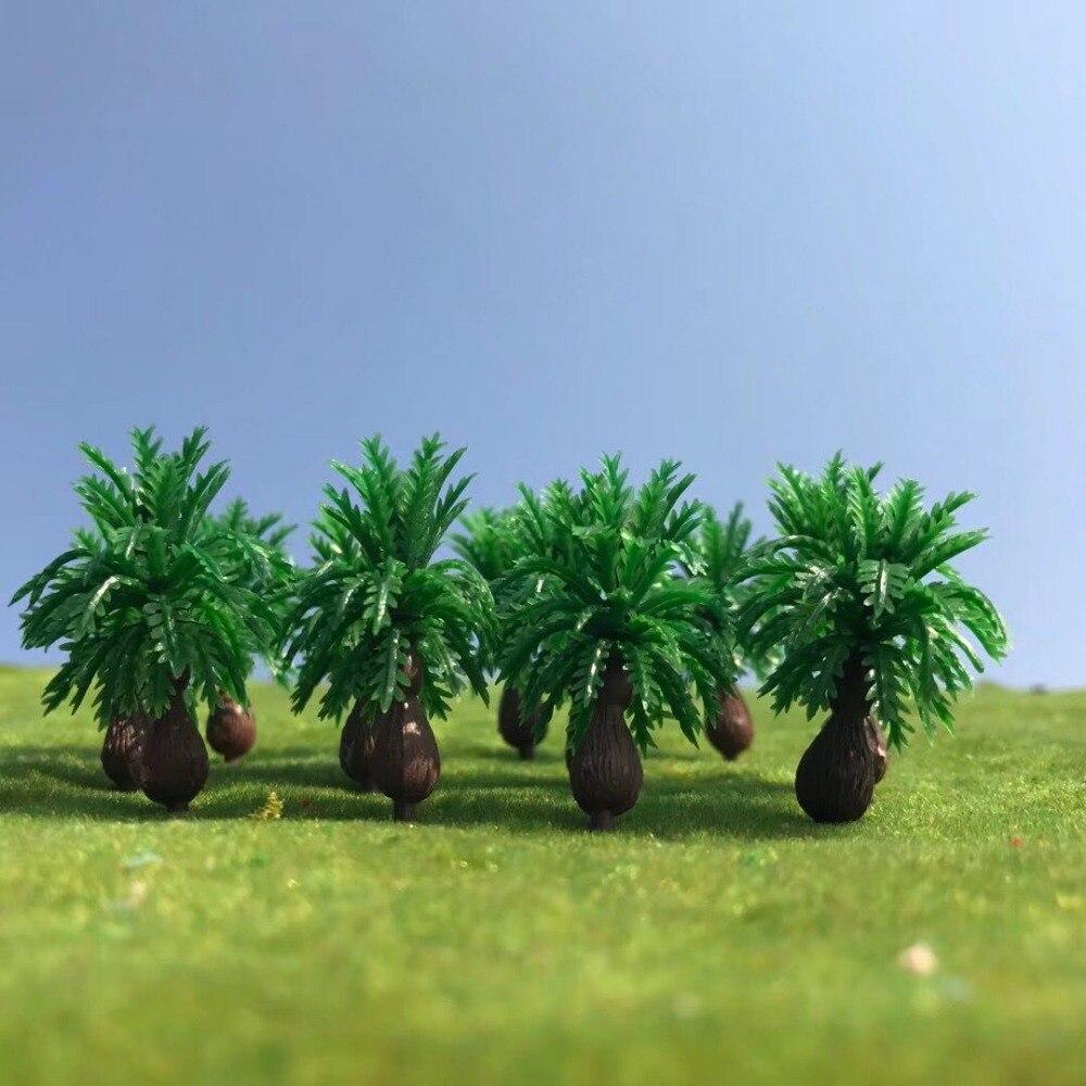 4 см модель пальмового дерева. Архитектурная модель изготовление деревьев для масштабного поезда декорации уличная планировка