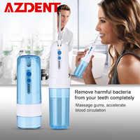 Pliable 4 Modes eau dentaire Flosser Portable pli Oral irrigateur USB Rechargeable étanche 200ml réservoir d'eau + 5 pointes de Jet