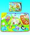 Русское музыкальное Капитала ковер tapete de atividades де bebes детские игрушки играть мат 70*50 см