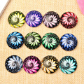 Mix Print Photo Glass Cabochon 12mm 16mm 20mm 25mm 10mm 14mm 18mm Round Flatback DIY Pendants Necklace Accessories