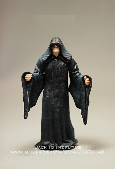 Disney Star Wars Sheev Palpatine The King 10cm Action Figure Posture Anime Decoration Collection Figurine Toys Model Children
