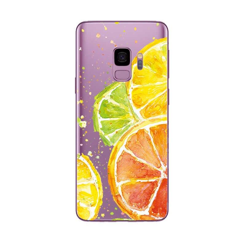 Caso suave para Samsung Galaxy S6 S7 borde S8 S9 A3 A5 A8 2018 J510 A320 A520 J3 J330 J530 J2 J5 primer suave de silicona casos