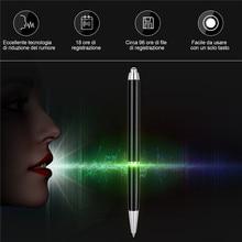 Цифровой диктофон ручка 16 Гб MP3 плеер ручка аудио рекордер шумоподавление HD звукозапись мини диктофон grabador de voz