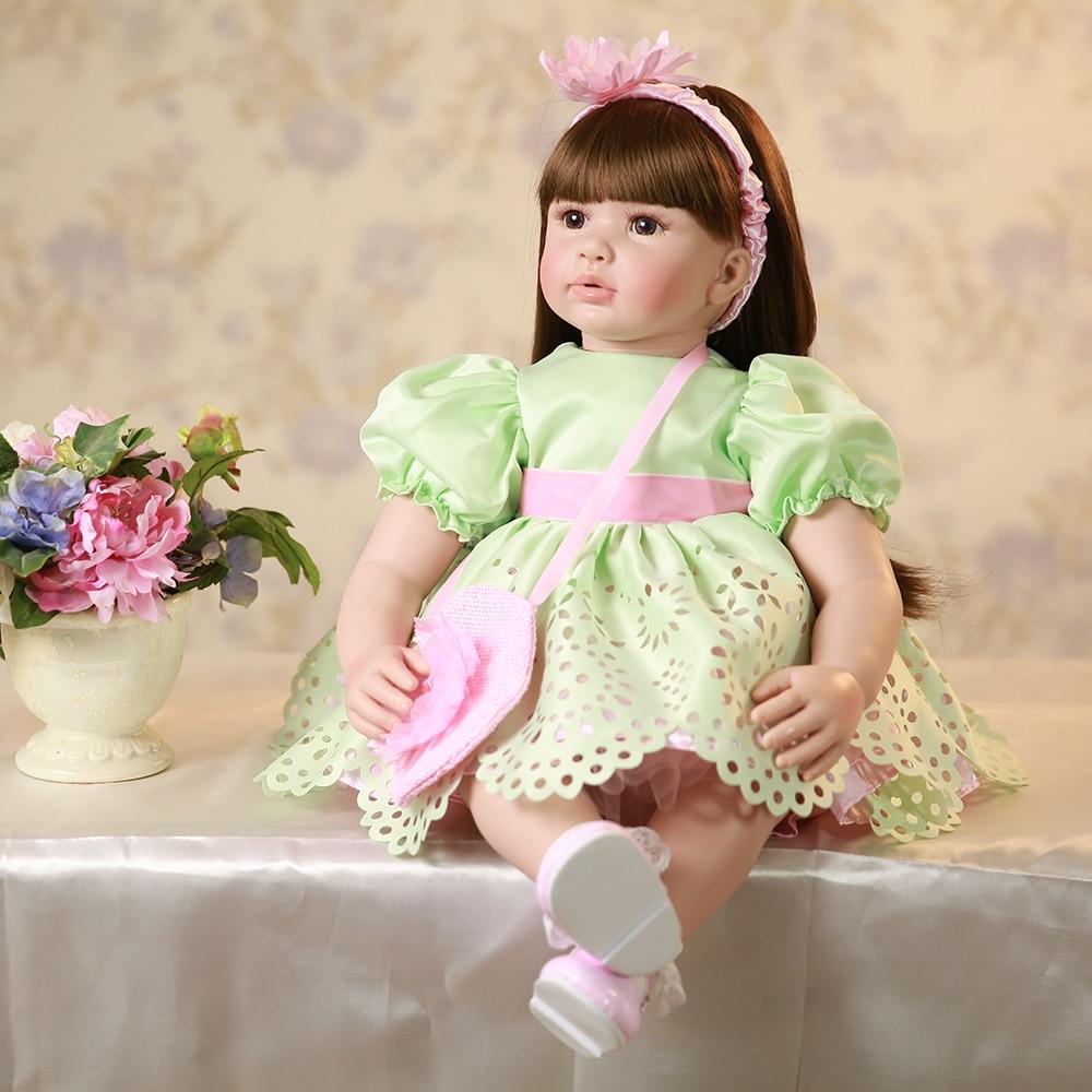 Lifelike Baby Alive Silicone Reborn Toddler Princess Girl