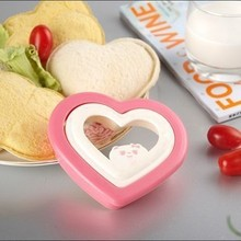 1Pc Toast Bread Maker Mold Sandwich Cute Bear Shape Mould Heart Shape for Children's Interesting Breakfast