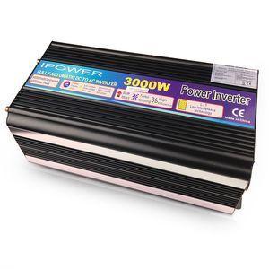 Image 2 - 3000W/6000W Power Inverter DC12V to AC 220V 230V 240V modified sine wave with wireless remote control EU UK AU universal socket