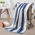 Nuevo 2016 marca 400g Amantes 70x140 cm de Rayas 100% algodón toalla de baño Suave Toalla de Playa de Secado Rápido cuarto de baño toalla