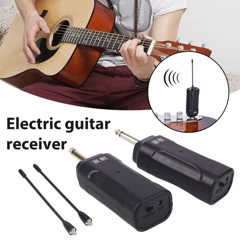music sender receiver portable professional black mini audio launcher guitar parts receiver