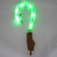 Принцесса Моана Мауи Оружие Меч Рыболовный Крючок С Легкими 42 см Игрушки #2009 Фигурку Brinquedo Игрушки для Детей День Рождения подарок