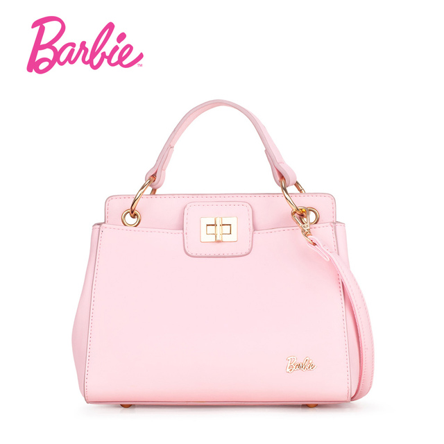 Barbie New Arrival Hard Pu Leather Women Handbags Female Fashionable Commuter Bag Messenger Shoulder Handbag