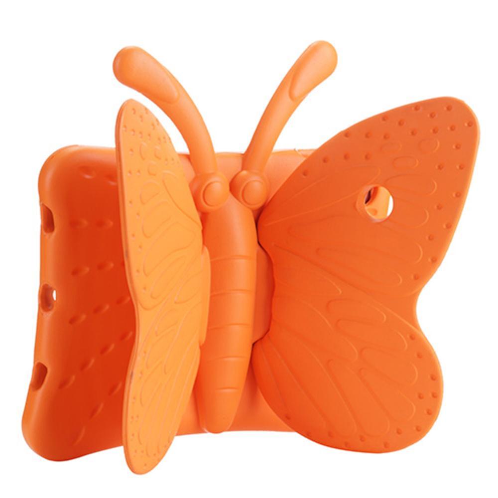 Для iPad 9.7 2017 чехол противоударный бабочка EVA Стенд чехол для детей, планшеты крышка с ручкой дети Безопасный чехол для IPad Air 1 5