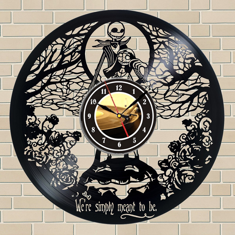 THE NIGHTMARE BEFORE CHRISTMAS WERE SIMPLY MEANT TO BE VINYL WALL DECAL
