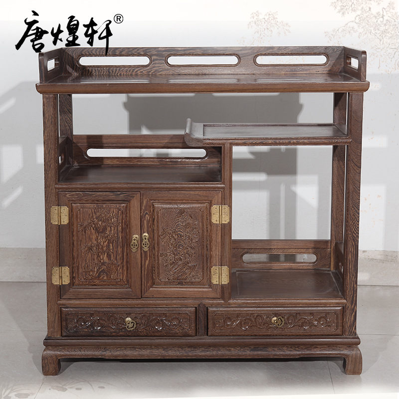 Mahogany Furniture Wooden Wood Sideboard Living Dining Kitchen Manufacturers Selling Tea Storage Lockers