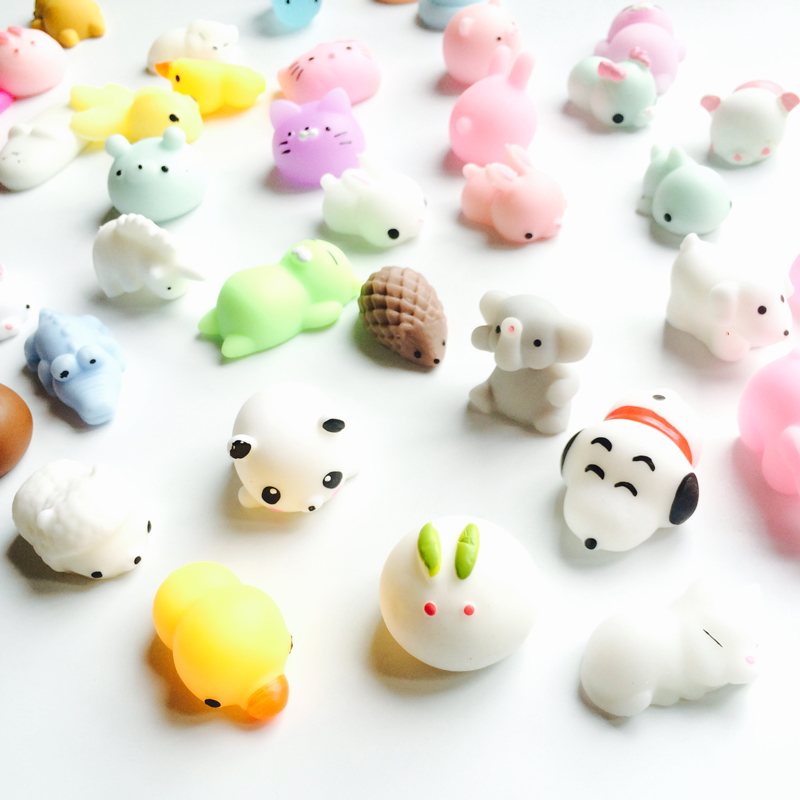 Squishy Toy Cute Animal Antistress Ball Squeeze Mochi Rising Toys Abreact Soft Sticky Squishi Stress Relief Toys