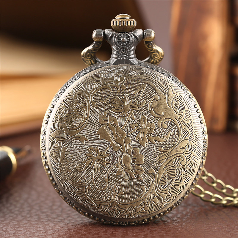 Diving Eagle Pocket Watch