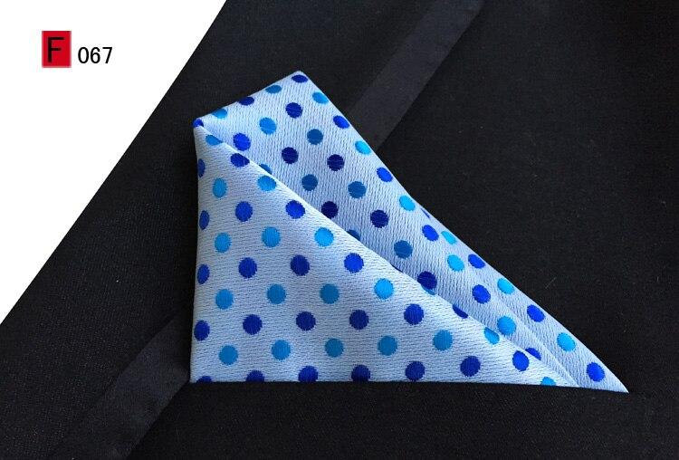 Классический галстук 8 см Блестящий галстук в горошек с карманом Hanky