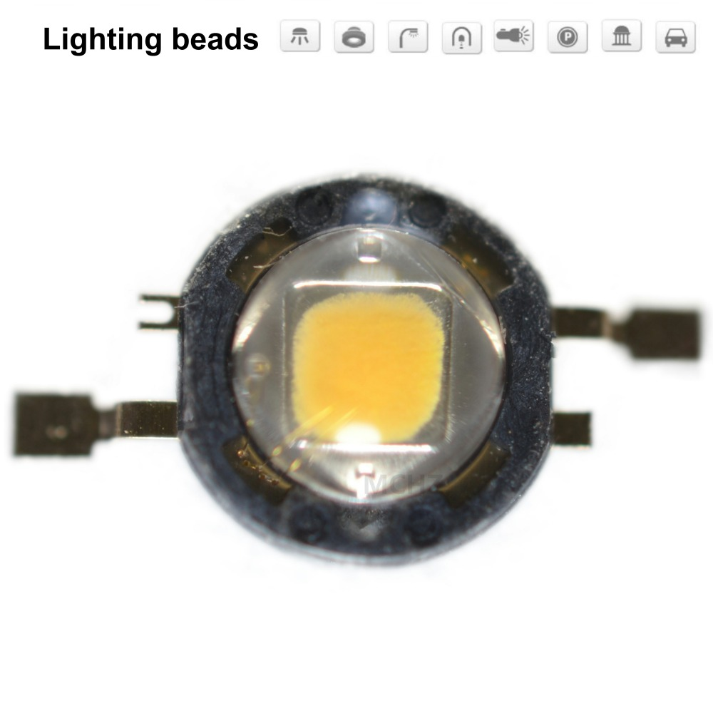 20pcs 1W 2W 3W POWER SEOUL LED Bulbs High Power Lamp SMD Pure White Warm White  X W42180 CRI80