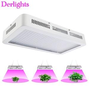 Image 1 - 600W/300W LED Grow Light Full Spectrum Red+Blue+White+UV+IR AC85~265V Led Plant Lamp for Aquarium Grow Room horticulture
