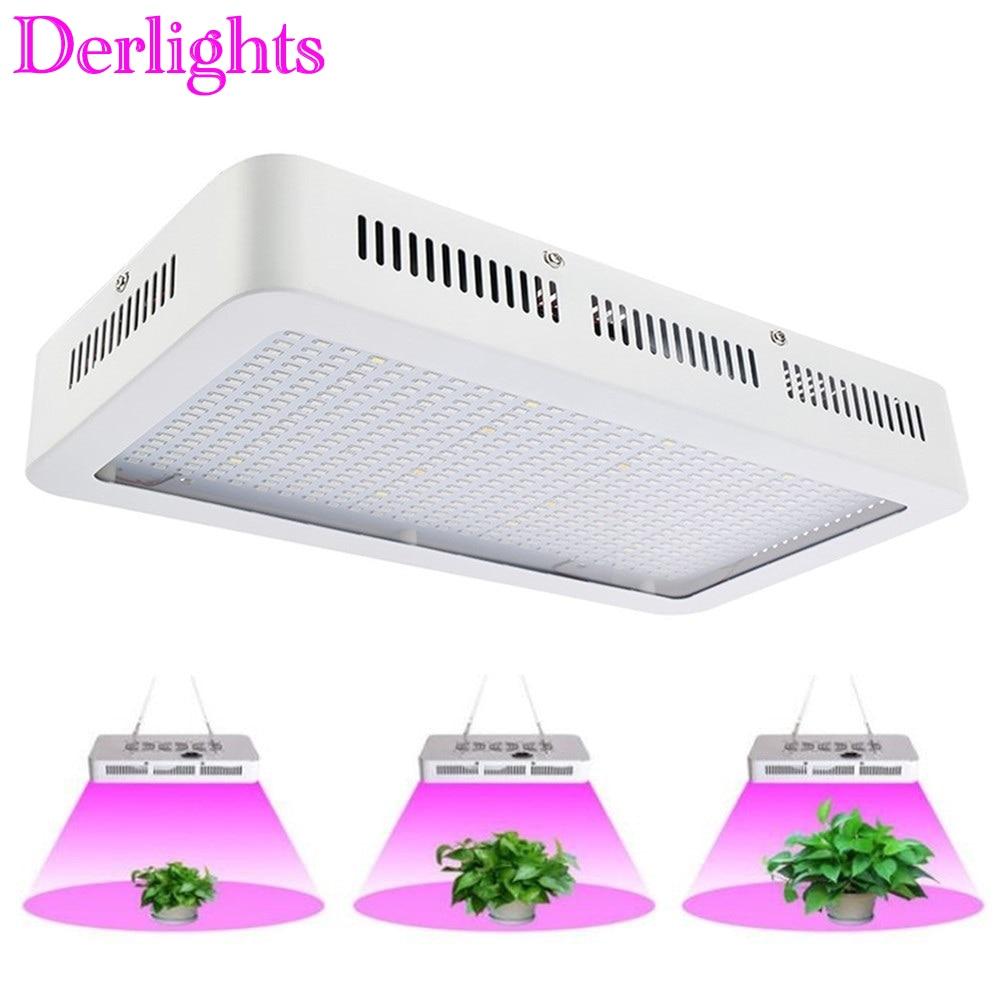 600W/300W LED Grow Light Full Spectrum Red+Blue+White+UV+IR AC85~265V SMD5730 Led Plant Lamps LED Aquarium Lamps