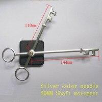 Free Shipping New Quartz Clock Movement For Clock Mechanism Repair DIY Clock Parts Accessories Shaft 20mm
