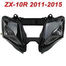 For 11-15 Kawasaki Ninja ZX10R ZX 10R Motorcycle Front Headlight Head Light Lamp Headlamp CLEAR 2011 2012 2013 2014 2015 motorcycle headlight front headlamp light fits 2013 2014 for kawasaki z800 z250 dedicated