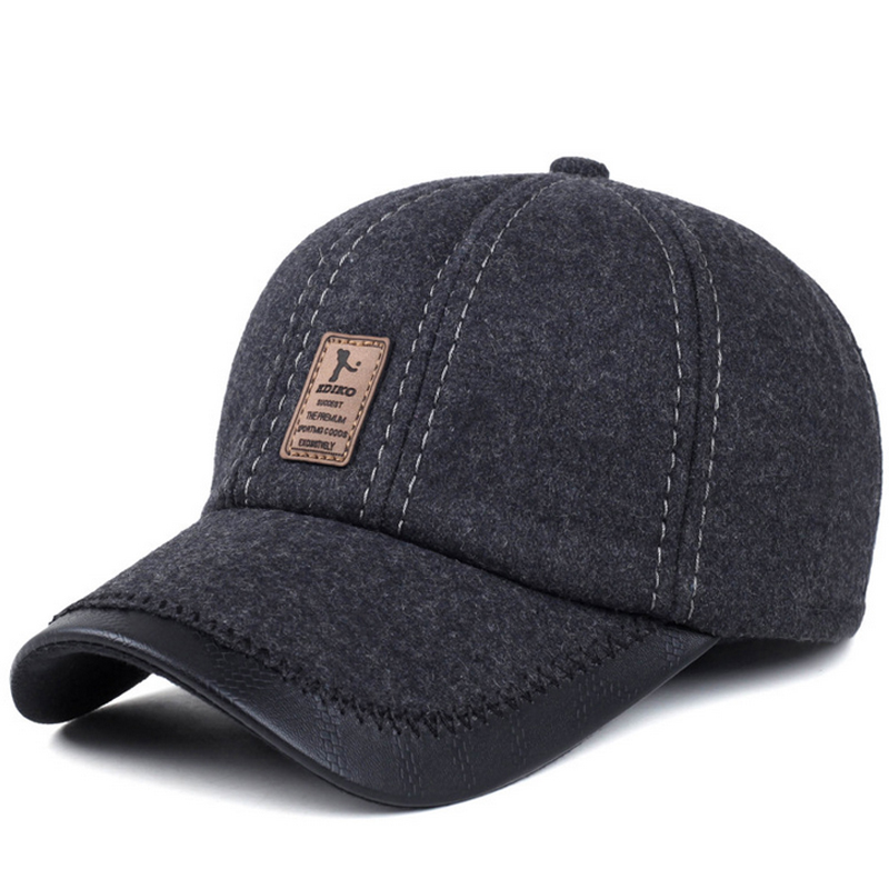 VORON 2017 New Best-selling European men's autumn and winter hat, cotton casual fashion men's popular baseball cap, metal buckle 2016 new style popular best selling natural jade