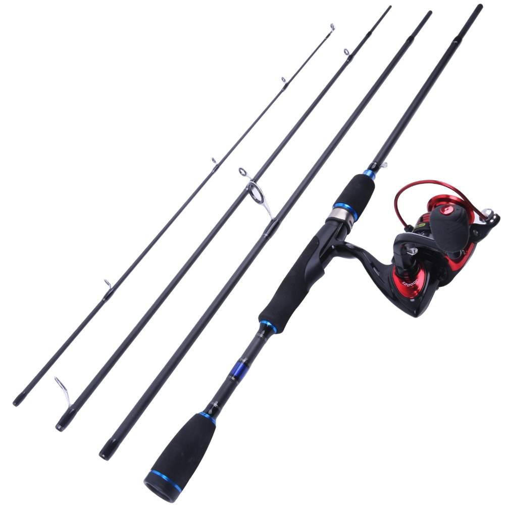 Spinning Combo 69 Spinning Rod Carbon Fishing Rod with X2000 Spinning Reel