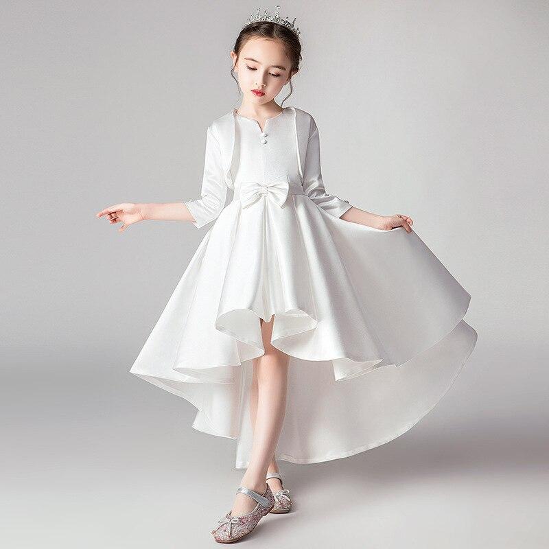 Girls   Thicken Warm Princess Wedding Party   Dresses     Flower   Children Pengpeng Evening for   Girls   Birthday Party   Dresses   vestidos