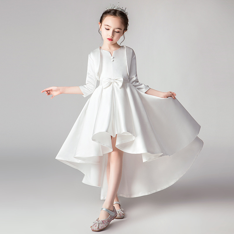Girls Thicken Warm Princess Wedding Party Dresses Flower Children Pengpeng Evening For Girls Birthday Party Dresses Vestidos