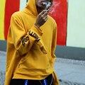 Гоша Rubchinskiy Rubchinsky Кофты Мужские Пуловеры Хип-Хоп Kanye Роман Несколько манжеты Supremitied Балахон Скейтборд Paccbet Felpe