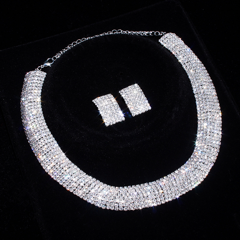 Brand Design Elegant Bridal Jewelry Setss