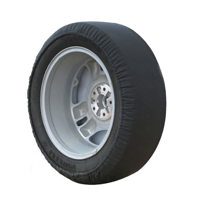 CHIZIYO Universal Soft Black Waterproof Spare Tire <font><b>Cover</b></font> <font><b>14</b></font>