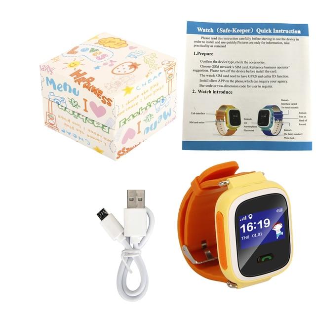 316d7869937 kids gps tracking smart watch Q60 high quality gps tracker Q60-in ...