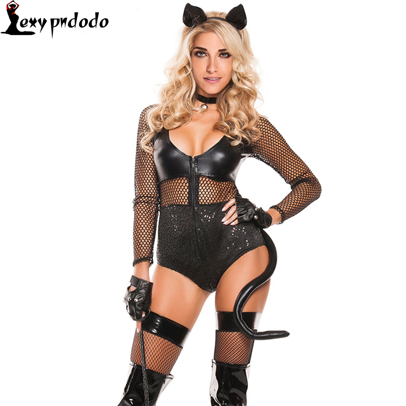 Halloween Costumes For Women 50% Off Brand New Sexy Midnight Cat Costume Sexy Women Costume Halloween Costume Fancy Dress