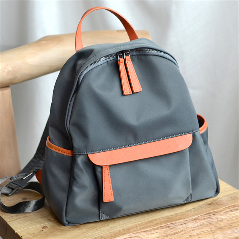 BeDo Women Oxford Backpack Girls School Casual Bag For Teenager Oxford Patchwork Lady Leisure Pack Bag New Travel Back