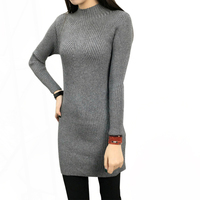 2018 New Spring Fashion Women S Sweater High Elastic Solid Turtleneck Women S Long Slim Sexy