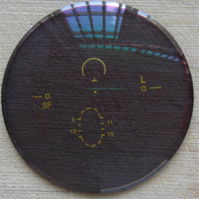 Обесцвечивание объектив очки для чтения hyperspeed 1.56 ультра-тонкий чай серый близорукости линзы Прогрессирующая мультифокальная солнечного света меняет цвет