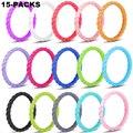 Тонкое плетеное Силиконовое кольцо для женщин, обручальные кольца, резинки, спортивные, гипоаллергенные, Кроссфит, гибкие, тканые, силиконо...