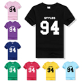Women&Men T-shirt Harajuku HARRY STYLES 94 Cotton Casual Funny T Shirts 2016 Summer Letter Print Streetwear Tshirt T-F90035