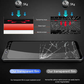 3Pcs Full Cover Tempered Glass For Xiaomi Redmi Note 7 6 5 8 Pro 5A 6 Screen Protector For Redmi 5 Plus 6A Protective Glass Film 3