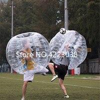 Бесплатная доставка 1,5 м пузырь футбольный мяч тело бампер Футбол мяч 5ft надувной мяч человека Zorb