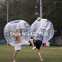 Free Shipping 1.5m Bubble Soccer Ball Body Bumper Football Ball 5ft Inflatable Human Ball Zorb Ball