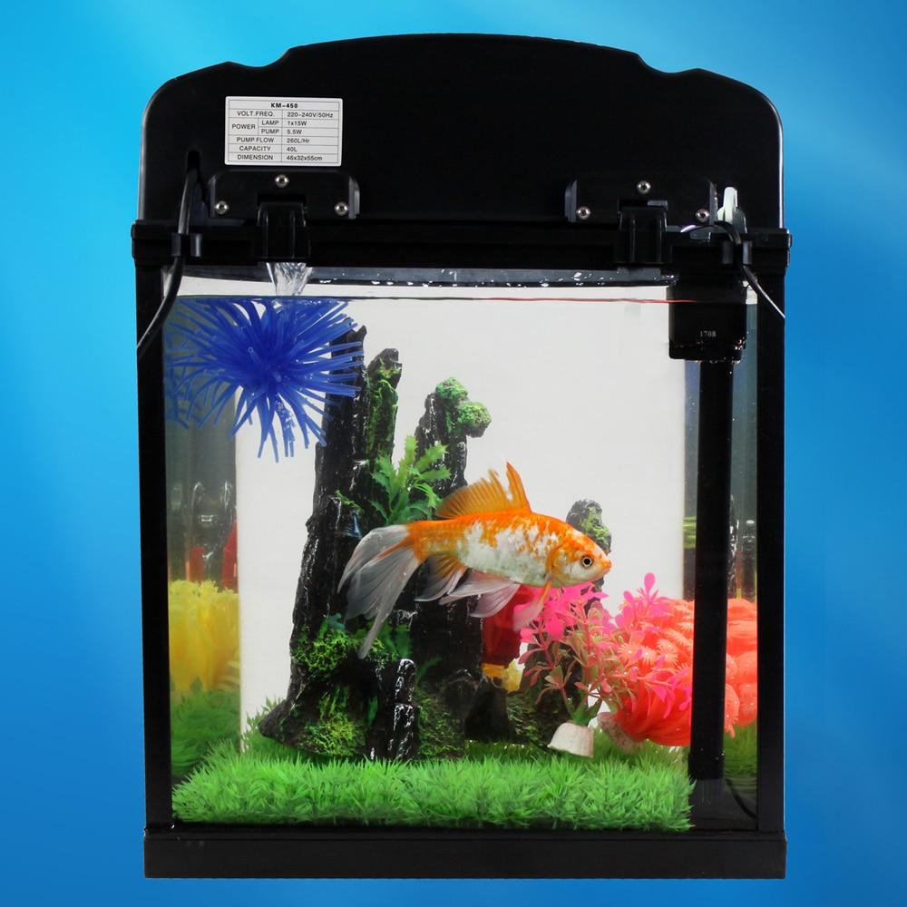 Freshwater aquarium fish ecosystem - Aliexpress Com Buy Gold Fish Tank Aquarium Free Shipping Km 450 High Grade Semi Circular Glass Aquarium Ecological Fish Tank With Filter From Reliable