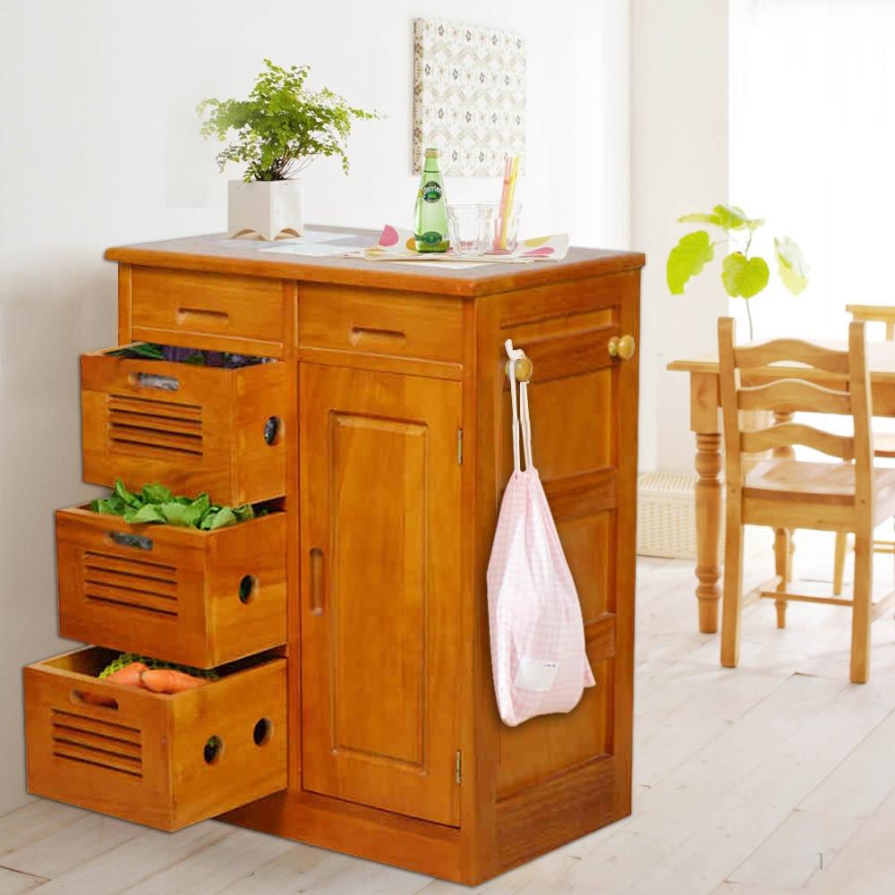 Hogar yat madera sencillo y moderno aparador gabinete de for Armarios de comedor