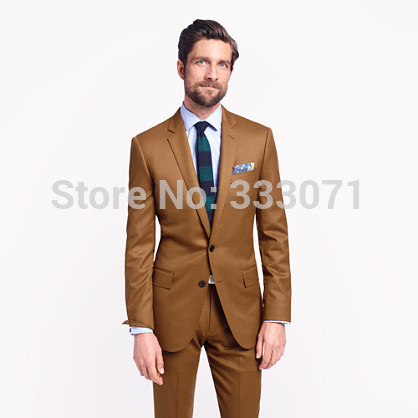 Popular Tan Mens Suit-Buy Cheap Tan Mens Suit lots from China Tan