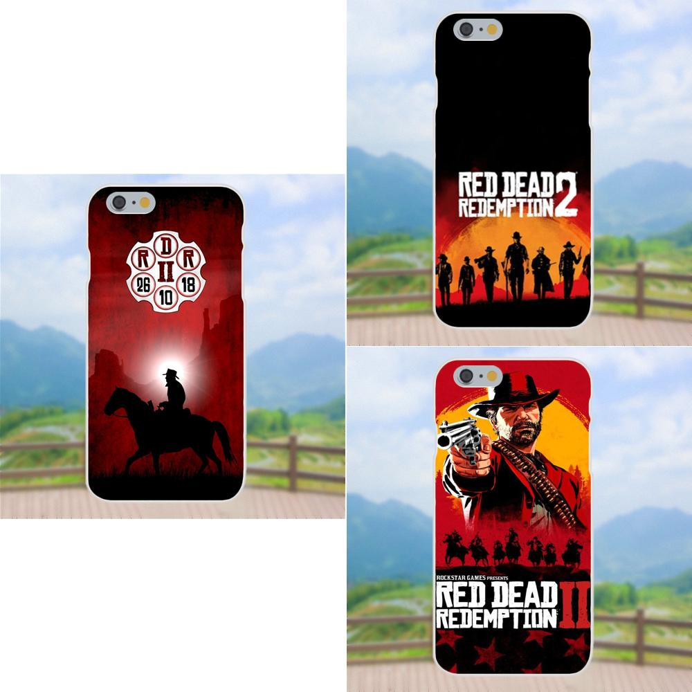 100% Quality Cool Game Red Dead Redemption 2 For Apple Iphone 4 4s 5 5c 5s Se 6 6s 7 8 Plus X Xs Max Xr Tpu Custom Phone Moderate Cost