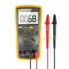 Multímetro Digital de rango Auto/Manual de Ohm con prueba LED de tensión CA/CC, corriente, capacitancia - 1