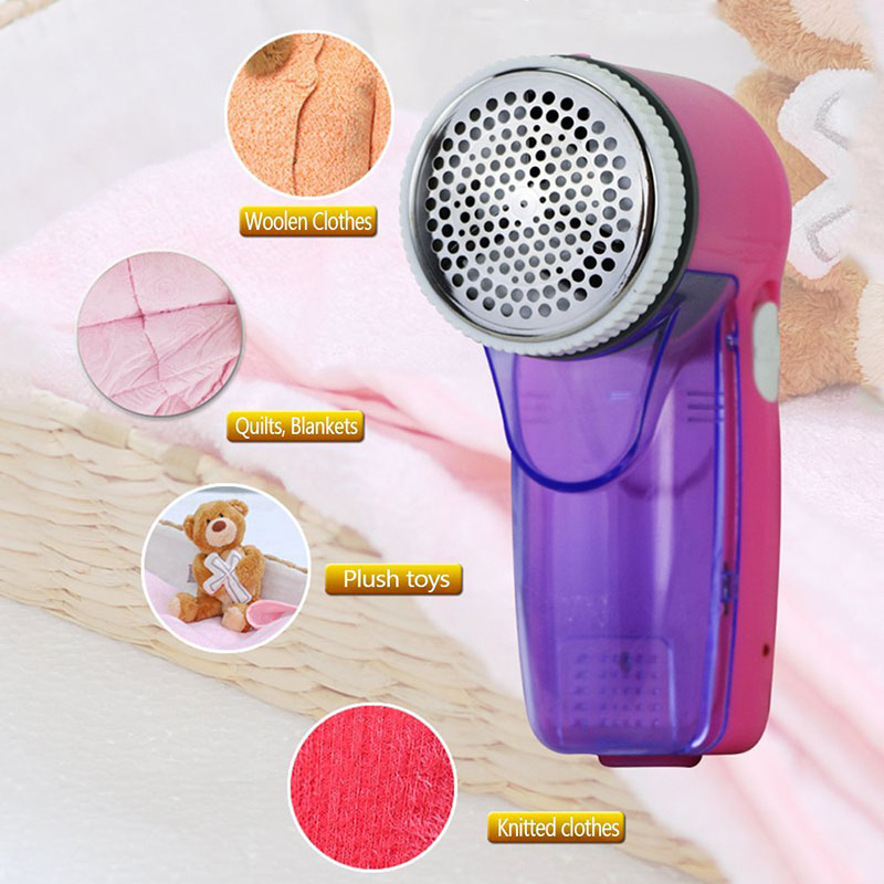 Suit Fabric Sweater Defuzzer Fabric Shaver Remover Rechargeable Clothes Lint Remover J2Y shiyu syz 779 rechargeable lint remover cleaner w brush deep purple pink 220v