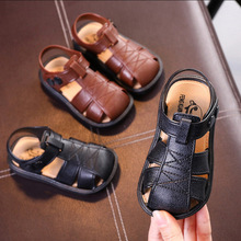 1-3 Years Old Baby Soft Bottom Slip Cute Summer Toddler Shoes Boys Sandals