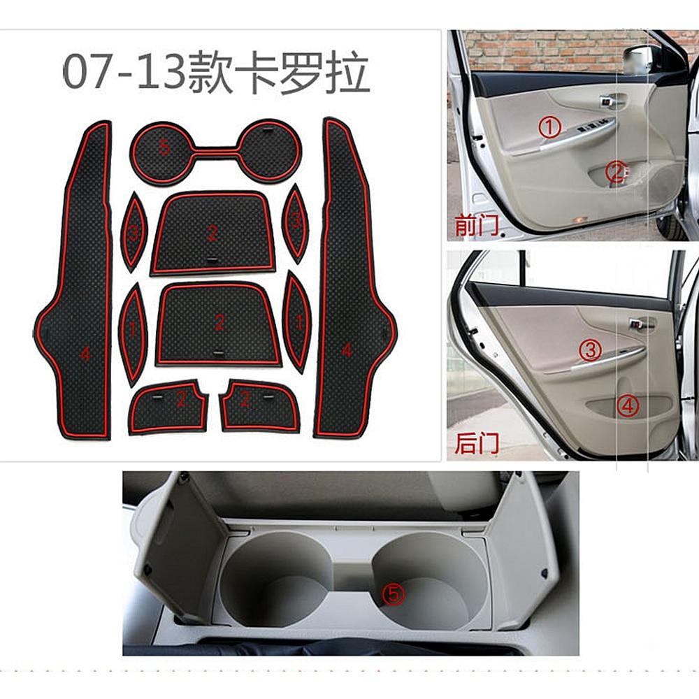 për Toyota Corolla 2007 2008 2009 2010 2011 2012 2013 Styler Gate - Aksesorë të brendshëm të makinave - Foto 5